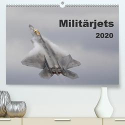 Militärjets (Premium, hochwertiger DIN A2 Wandkalender 2020, Kunstdruck in Hochglanz) von MUC-Spotter