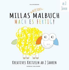 MILLAS KRITZEL MALBUCH – Mach es Fertig! von Petersson,  Milla