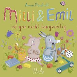 Milli & Emil ist gar nicht langweilig von Marshall,  Anna