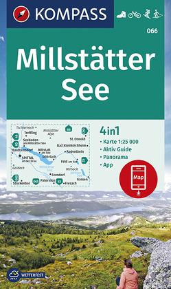 KOMPASS Wanderkarte Millstätter See von KOMPASS-Karten GmbH
