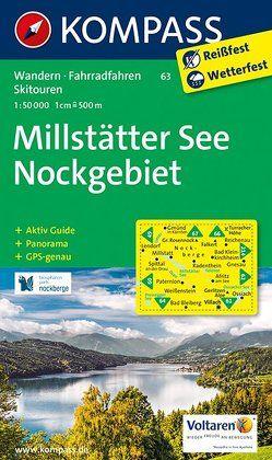 Millstätter See, Nockgebiet von KOMPASS-Karten GmbH