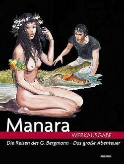 Milo Manara Werkausgabe von Manara,  Milo
