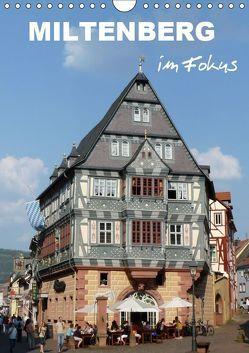 Miltenberg im Fokus (Wandkalender 2019 DIN A4 hoch)