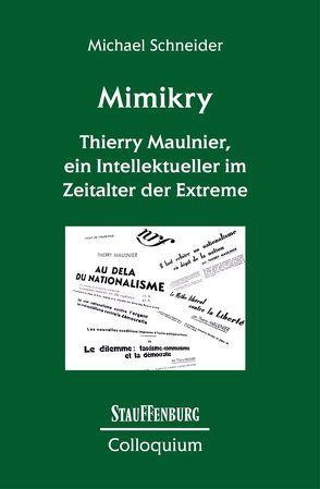 Mimikry von Schneider,  Michael
