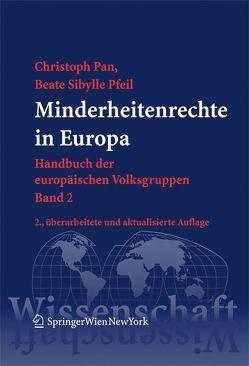 Minderheitenrechte in Europa von Pan,  Christoph, Pfeil,  Beate Sibylle