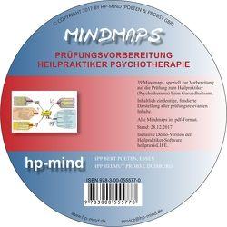 Mindmaps Prüfungsvorbereitung Heilpraktiker Psychotherapie von Poeten,  Bert, Probst,  Helmut