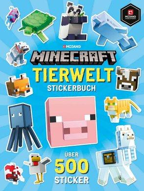 Minecraft Stickerbuch Tierwelt