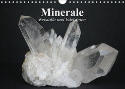 Minerale. Kristalle und Edelsteine (Wandkalender 2018 DIN A4 quer) von Stanzer,  Elisabeth
