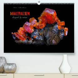 MINERALIEN designed by nature (Premium, hochwertiger DIN A2 Wandkalender 2020, Kunstdruck in Hochglanz) von Schmidbauer,  Heinz