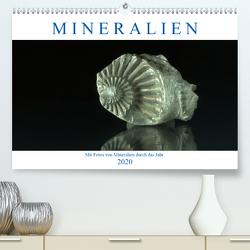 Mineralien (Premium, hochwertiger DIN A2 Wandkalender 2020, Kunstdruck in Hochglanz) von Eckert,  Ralf