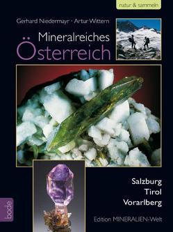 Mineralienreiches Österreich von Niedermayr,  Gerhard, Wittern,  Artur