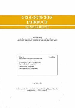 Mineralische Rohstoffe und nachhaltige Entwicklung von Burger,  Andreas, Chahoud,  Tatjana, Henseling,  Karl O