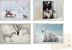 Mini-Adventskalender-Sortiment – Tiere im Schnee von Daniela Lengers