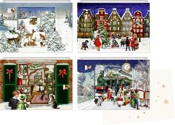Mini-Adventskalender-Sortiment – Zauberhafte Weihnachtszeit von Behr,  Barbara