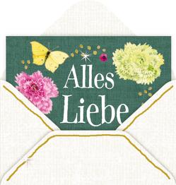 Mini-Briefchen – Zauberhafte Blumenwiese (Marjolein Bastin) von Bastin,  Marjolein
