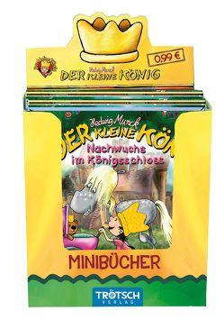 """Mini-Bücher im Display """"Der kleine König"""" von Munck,  Hedwig"""