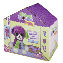 Mini Glitzer-Glotzies Häkelset Hund Wauziwuff von Czerny,  Melanie