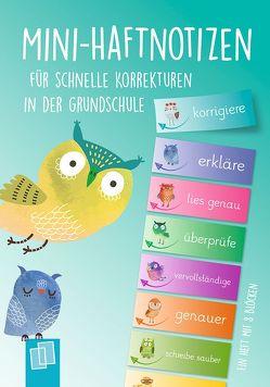 Mini–Haftnotizen für schnelle Korrekturen in der Grundschule von Verlag an der Ruhr,  Redaktionsteam