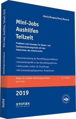 Mini-Jobs, Aushilfen, Teilzeit 2019 von Abels,  Andreas, Besgen,  Dietmar, Deck,  Wolfgang, Rausch,  Rainer