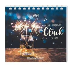 """Mini-Kalender 2020 """"Eine Extraportion Glück für dich!"""""""