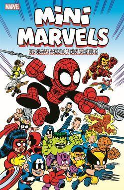 Mini Marvels: Die große Sammlung kleiner Helden von Giarrusso,  Chris, Kronsbein,  Bernd, Loeb,  Audry, McKeever,  Sean, Sumerak,  Marc, Tobin,  Paul