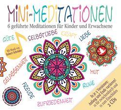 Mini Meditationen (Doppel-CD) – Geführte Meditationen für zwischendurch und zum Einschlafen von Diakow,  Tobias, Heuer-Diakow,  Sabrina