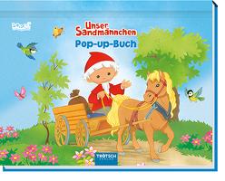"Mini-Pop-Up-Buch ""Unser Sandmännchen"""