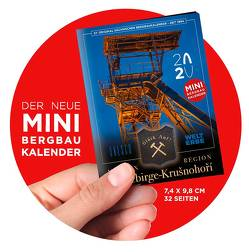 "Mini-Terminkalender 2020 – UNESCO-Welterbe ""Montanregion Erzgebirge/Krušnohorí"" von Koenig,  Rene, Kugler,  Jens"
