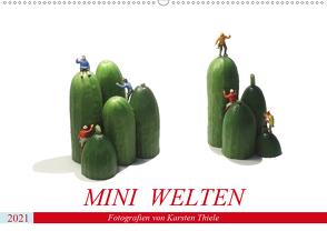 MINI WELTEN (Wandkalender 2021 DIN A2 quer) von Thiele,  Karsten