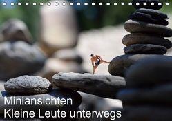 Miniansichten – Kleine Leute unterwegs (Tischkalender 2019 DIN A5 quer) von Borchhardt,  Katja