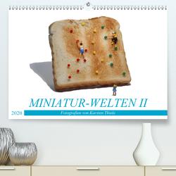 MINIATUR-WELTEN II (Premium, hochwertiger DIN A2 Wandkalender 2020, Kunstdruck in Hochglanz) von Thiele,  Karsten