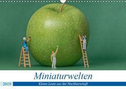 Miniaturwelten – Kleine Leute aus der Nachbarschaft (Wandkalender 2019 DIN A3 quer) von Trimbach,  Jürgen