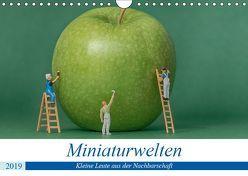 Miniaturwelten – Kleine Leute aus der Nachbarschaft (Wandkalender 2019 DIN A4 quer) von Trimbach,  Jürgen