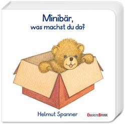 Minibär, was machst du da? von Spanner,  Helmut