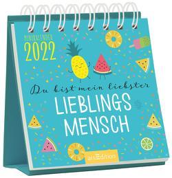 Minikalender Du bist mein Lieblingsmensch 2022