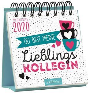 Minikalender Du bist meine Lieblingskollegin! 2020