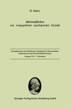 Minimalflächen von vorgegebener topologischer Gestalt von Seifert,  Herbert