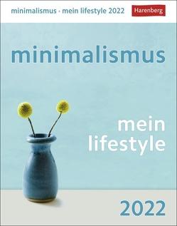 minimalismus – mein lifestyle Kalender 2022 von Czerny,  Verena, Harenberg