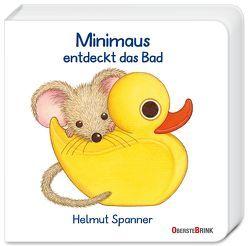 Minimaus entdeckt das Bad von Spanner,  Helmut