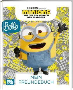 Minions – Auf der Suche nach dem Mini-Boss: Mein Freundebuch