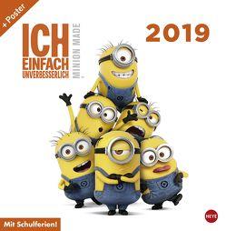 Minions Broschur – Kalender 2019 von Heye