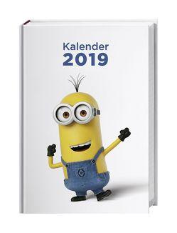 Minions Schülerkalender A6 – Kalender 2019 von Heye