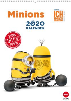 Minions (Wandkalender 2020 DIN A3 hoch) von Digital,  Heye