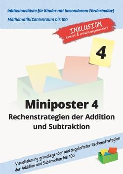 Miniposter 4 Rechenstrategien der Addition und Subtraktion von Sonnenberg,  Jens