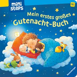 ministeps: Mein erstes großes Gutenacht-Buch von Grimm,  Sandra, Senner,  Katja