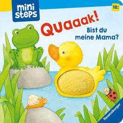 ministeps: Quak! Bist du meine Mama? von Neubacher-Fesser,  Monika, Penners,  Bernd