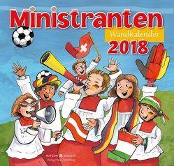 Ministranten-Wandkalender 2018 von Badel,  Christian, Sigg,  Stephan