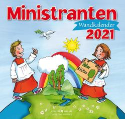 Ministranten-Wandkalender 2021 von Badel,  Christian, Sigg,  Stephan
