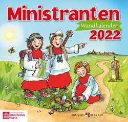 Ministranten-Wandkalender 2022 von Badel,  Christian, Sigg,  Stephan