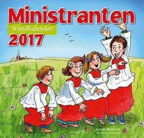 Ministrantenwandkalender 2017 von Sigg,  Stephan